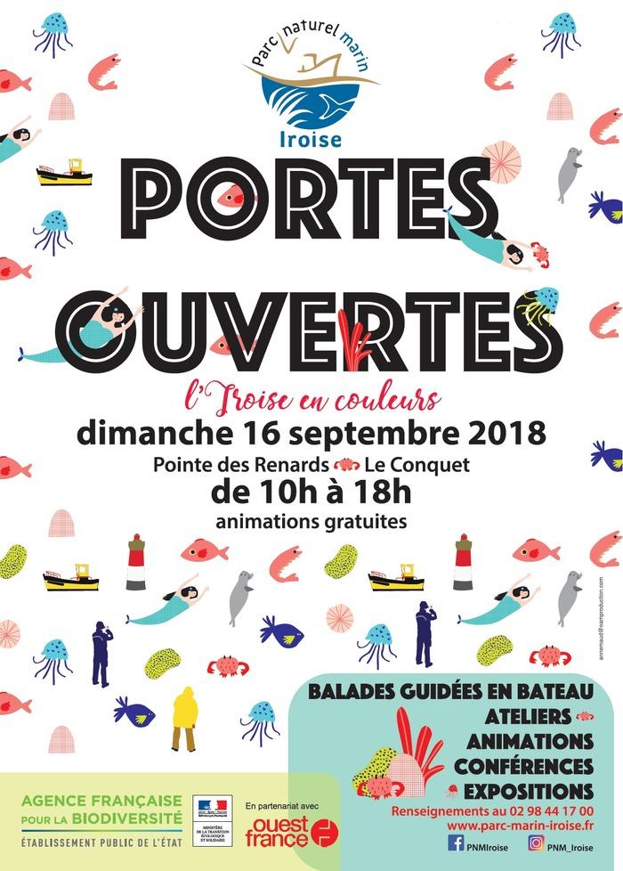 Journées du patrimoine 2018 - Portes ouvertes du Parc naturel marin d'Iroise