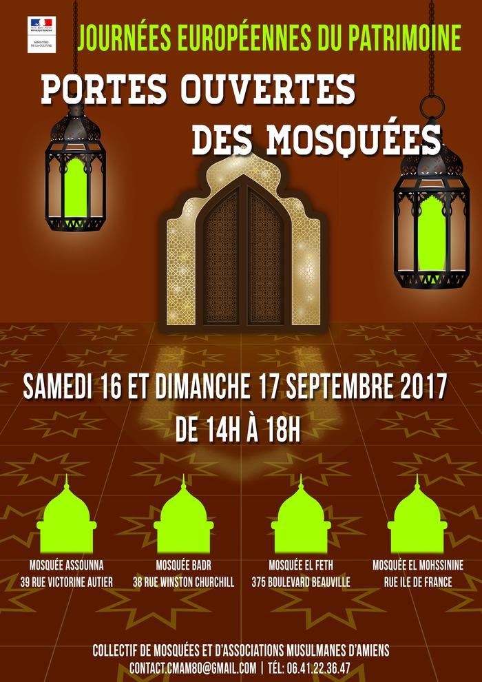 Journées du patrimoine 2017 - Portes Ouvertes Mosquées d'Amiens