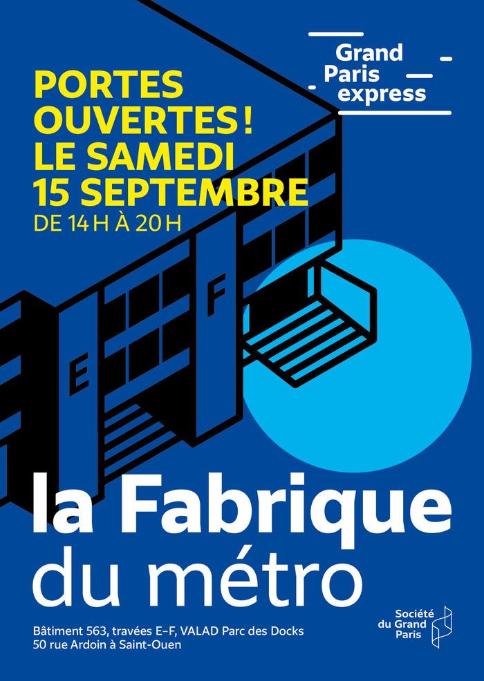 Journées du patrimoine 2018 - Balades urbaines à l'occasion des portes ouvertes de la Fabrique du métro