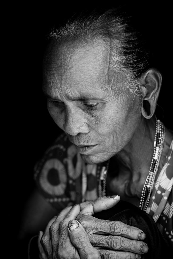 Portraits asiatiques intranquilles