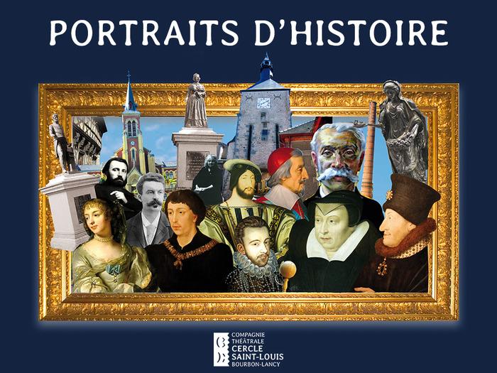 Journées du patrimoine 2018 - Portraits d'Histoire au Jardin de la Collégiale