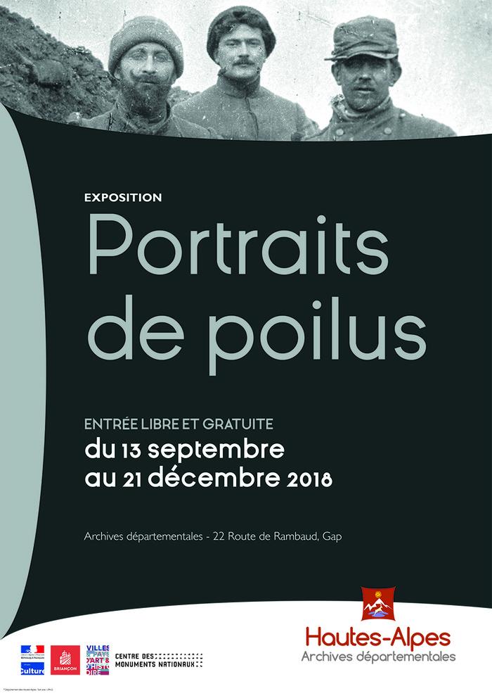 Journées du patrimoine 2018 - Portraits de poilus