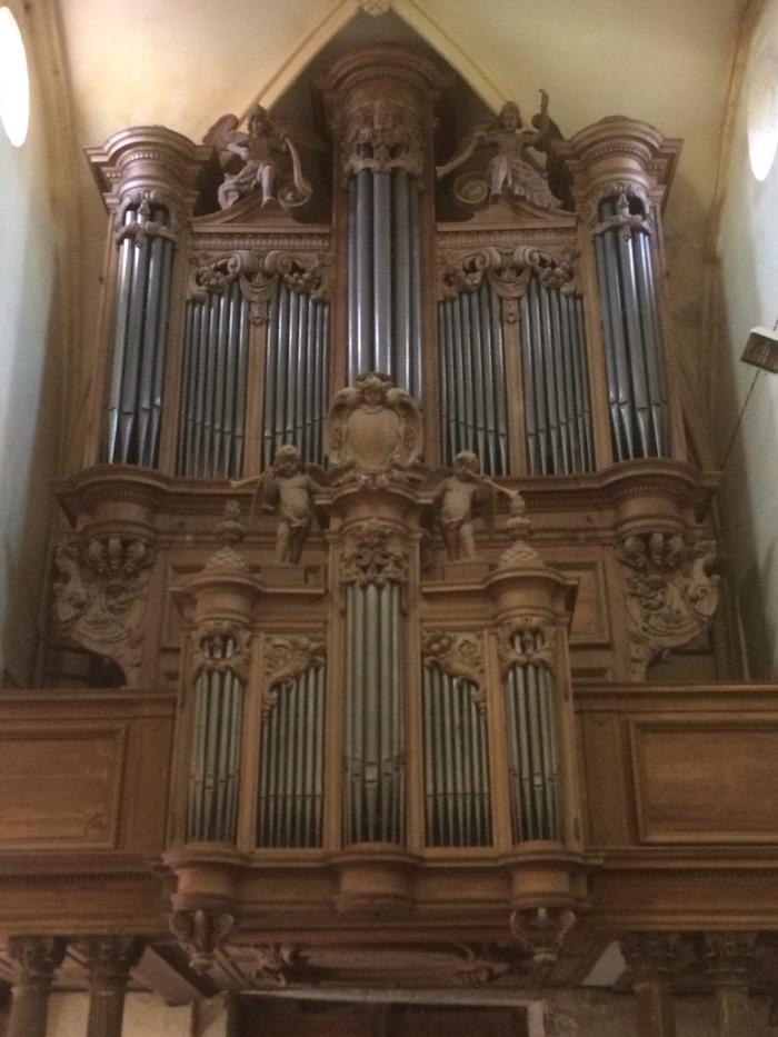 Journées du patrimoine 2017 - Présentation de l'orgue