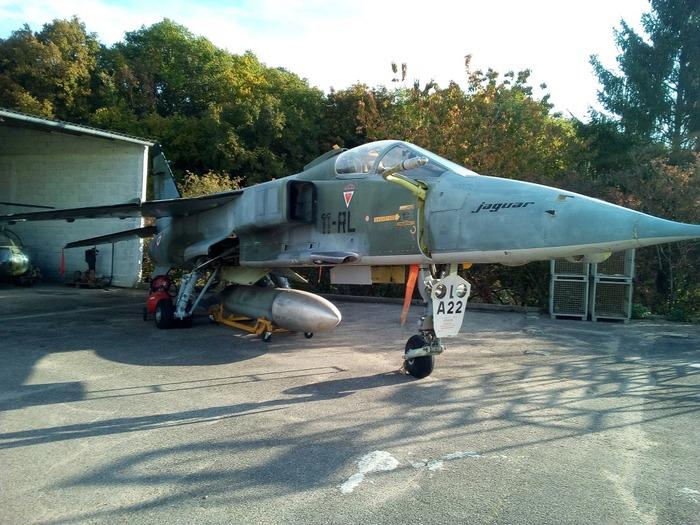 Journées du patrimoine 2018 - Présentation de l'avion JAGUAR A-22
