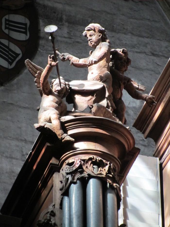 Journées du patrimoine 2018 - Présentation commentée et audition de l'orgue de la collégiale Notre-dame de Dole
