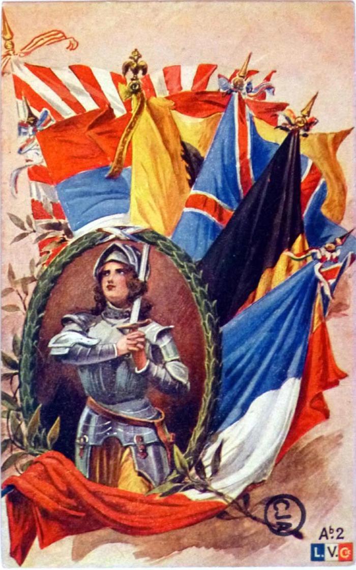 Journées du patrimoine 2018 - Présentation de Jeanne d'Arc en Europe