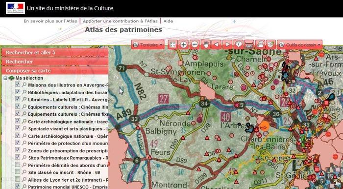 Journées du patrimoine 2019 - Présentation de l'Atlas des Patrimoines