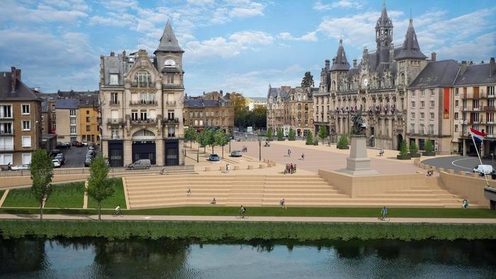 Journées du patrimoine 2018 - Présentation de l'hôtel de ville de Mézières et du chantier de rénovation de la place