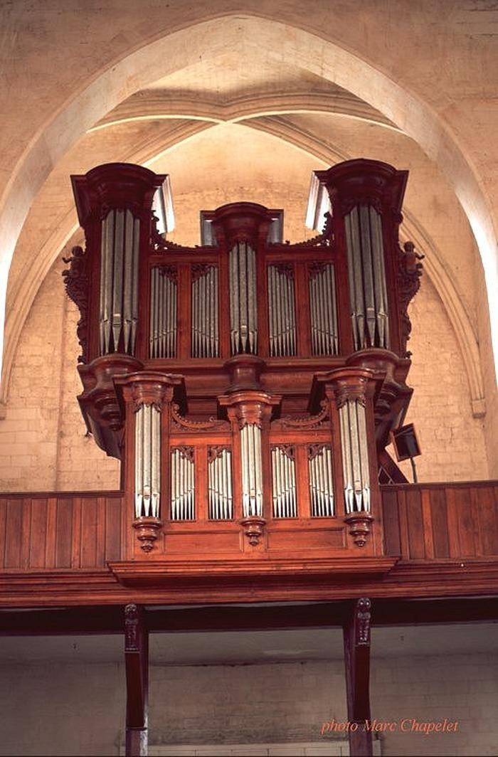 Journées du patrimoine 2018 - Présentation de l'orgue Adrien Carpentier
