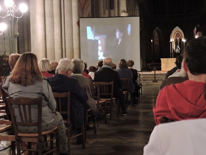Journées du patrimoine 2018 - Présentation de l'orgue de la cathédrale de Belley.