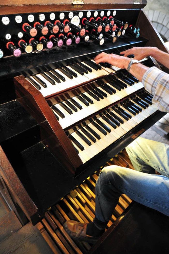 Journées du patrimoine 2018 - Présentation de l'orgue Georges Wenner de l'église Saint-Hilaire-le-Grand