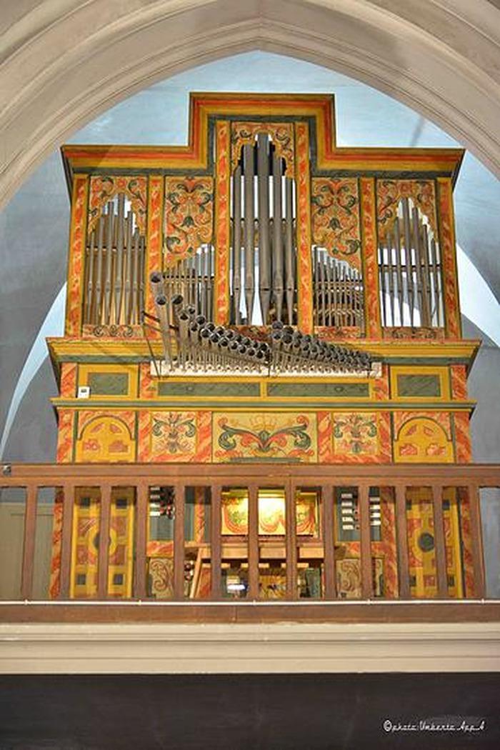 Journées du patrimoine 2018 - Présentation de l'orgue historique espagnol