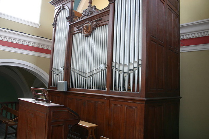 Journées du patrimoine 2017 - Présentation de l'orgue Merklin-Kuhn