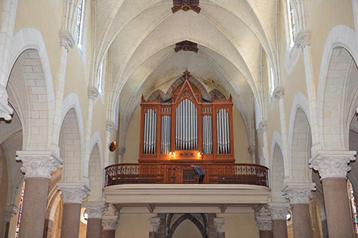 Journées du patrimoine 2018 - Présentation de l'orgue restauré et enrichi