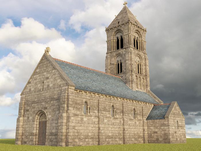 Journées du patrimoine 2017 - Présentation de la restitution virtuelle de la vieille église de Thaon
