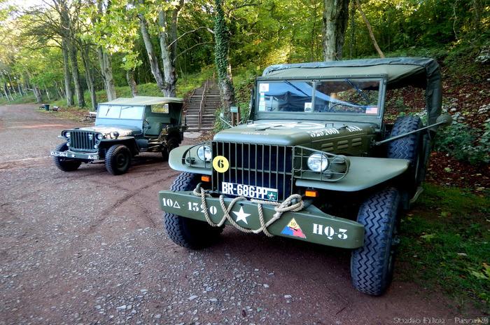 Journées du patrimoine 2018 - Présentation de véhicules originaux de la Seconde Guerre Mondiale