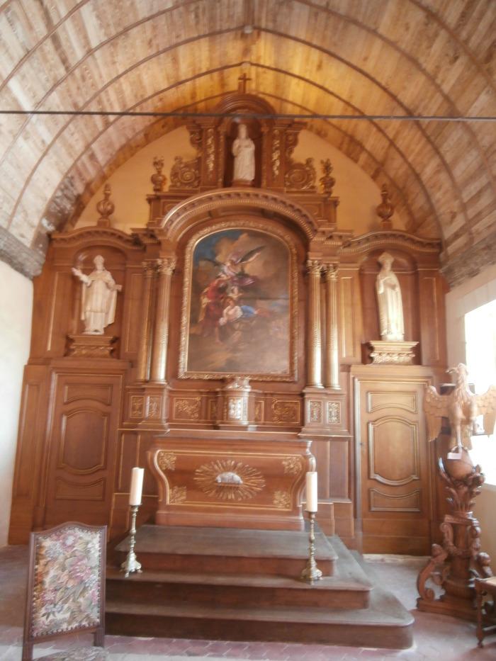 Journées du patrimoine 2018 - Visite guidée et présentation des travaux de restauration du retable majeur de l'église Saint-Martin