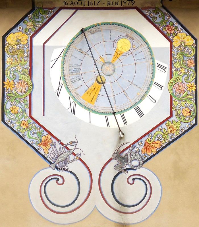 Journées du patrimoine 2018 - Le cadran solaire du cloître des Récollets