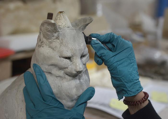Journées du patrimoine 2018 - Présentation du chantier des collections du Musée Sainte-Croix