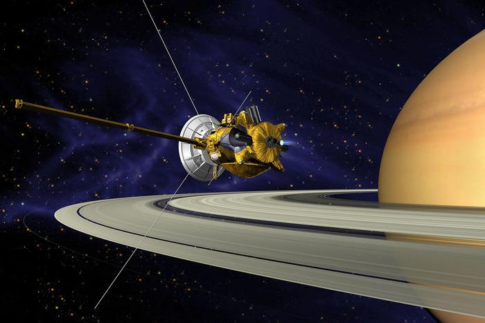 Crédits image : Vue d'artiste (image) : © NASA/JPL.