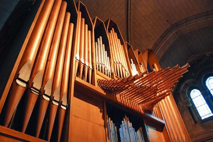 Journées du patrimoine 2018 - Présentation pour les scolaires du grand orgue de la cathédrale Saint-Charles.