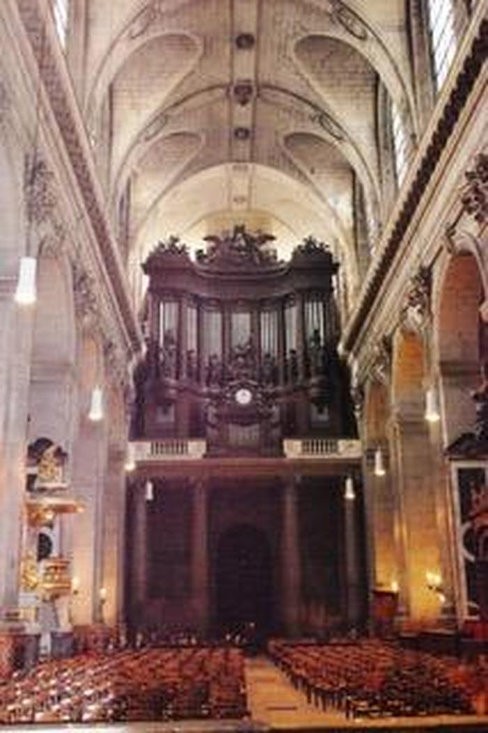 Journées du patrimoine 2017 - Présentation du grand orgue de Saint-Sulpice