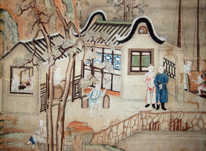 Présentation exceptionnelle du papier peint chinois du XVIIIe siècle