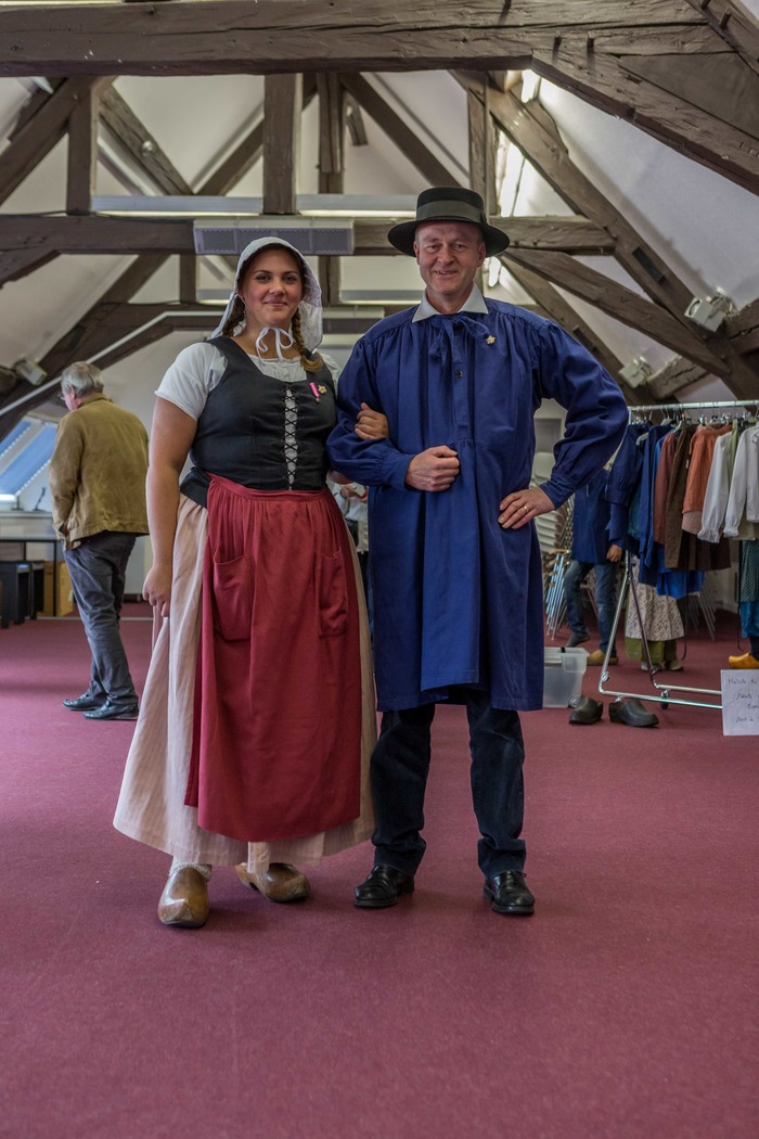 Journées du patrimoine 2018 - Présentations de costumes anciens