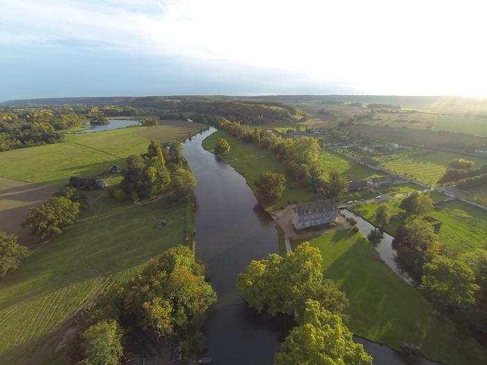 Journées du patrimoine 2018 - Circuit guidée sur le site du Manoir d'Heudreville, avec une production d'hydroélectricité