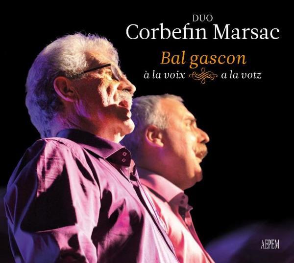 projection et bal gascon à la voix avec le duo Corbefin-Marsac