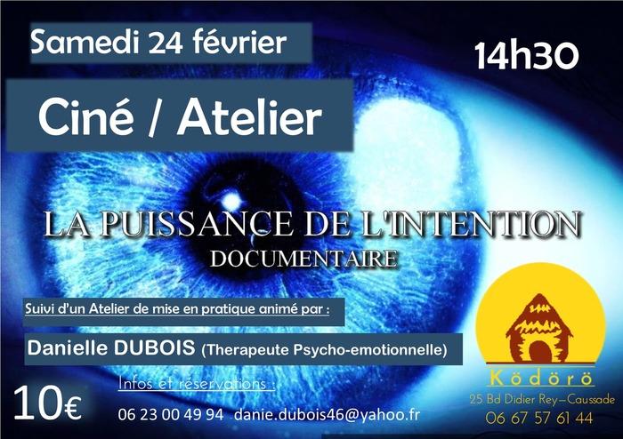 projection Ciné + atelier
