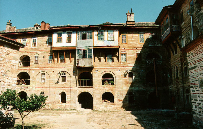 Crédits image : Monastère de la Grande Laure de l'Athos - (c) Wikimedia Commons - Mätes II