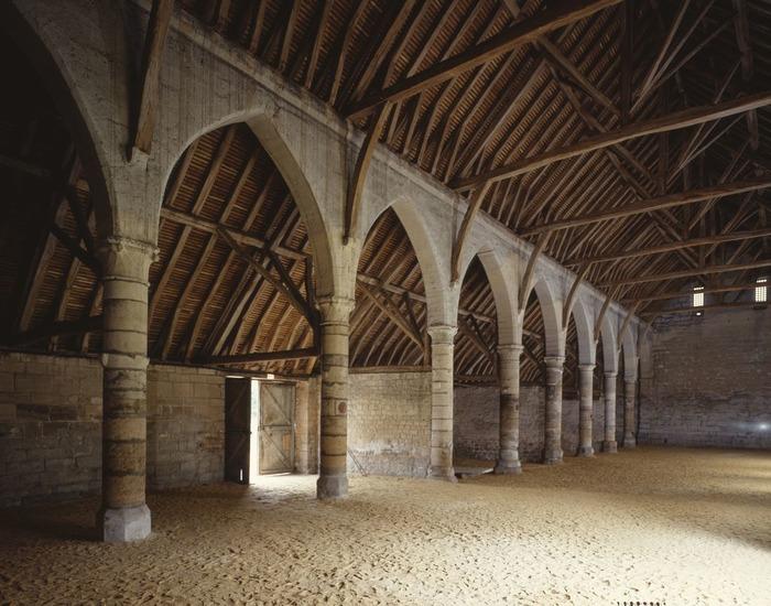 Journées du patrimoine 2018 - Projection dans la grange d'une vidéo sur l'histoire de l'abbaye