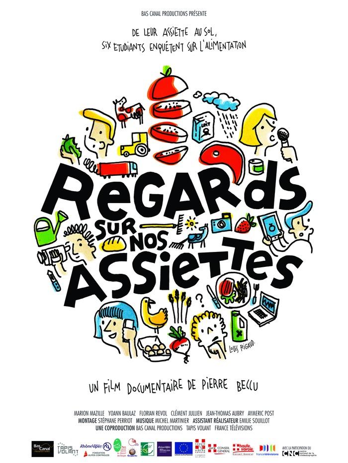 Journées du patrimoine 2018 - Projection-débat du documentaire « Regards sur nos assiettes ».