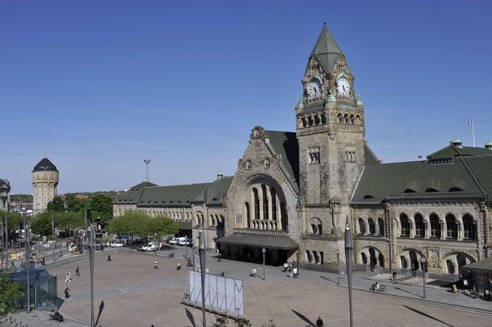 Journées du patrimoine 2018 - Projection des grandes dates de la gare