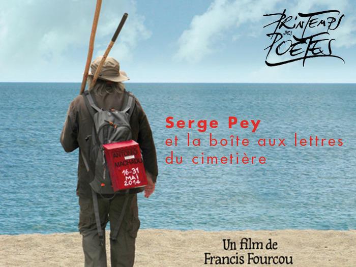 Projection du film de Francis Fourcou : SERGE PEY ET LA BOÎTE AUX LETTRES DU CIMETIÈRE
