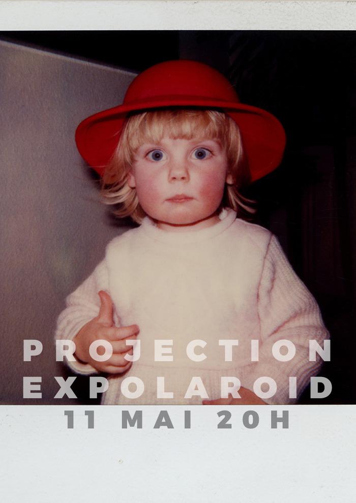 Projection Expolaroid///Saint-Gilles