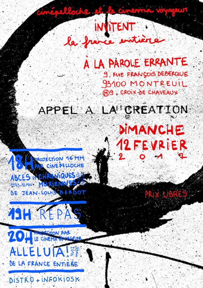 Projections cinépelloche & cinéma voyageur