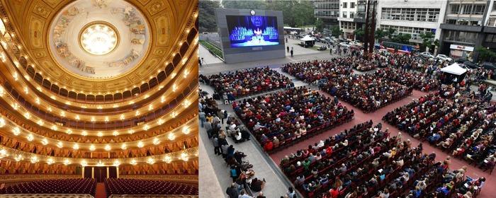 Journées du patrimoine 2018 - Projections culturelles anniversaire 110 ans Teatro Colón (Buenos Aires, Argentine)