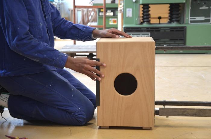 Projet de création musicale à partir d'instruments originaux