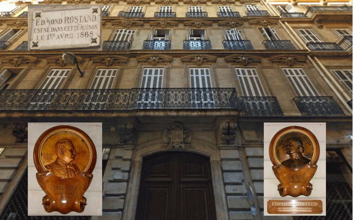 Journées du patrimoine 2018 - Promenade avec Edmond Rostand - Exposition dans le hall de sa maison natale