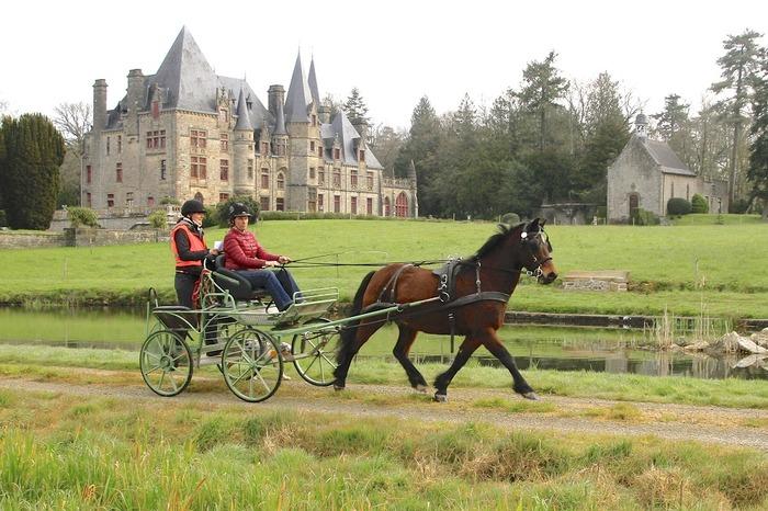Journées du patrimoine 2018 - Promenade en calèche dans le parc du Bois Cornillé