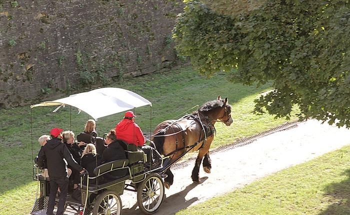 Journées du patrimoine 2018 - Promenades en calèche dans les fortifications de Vauban