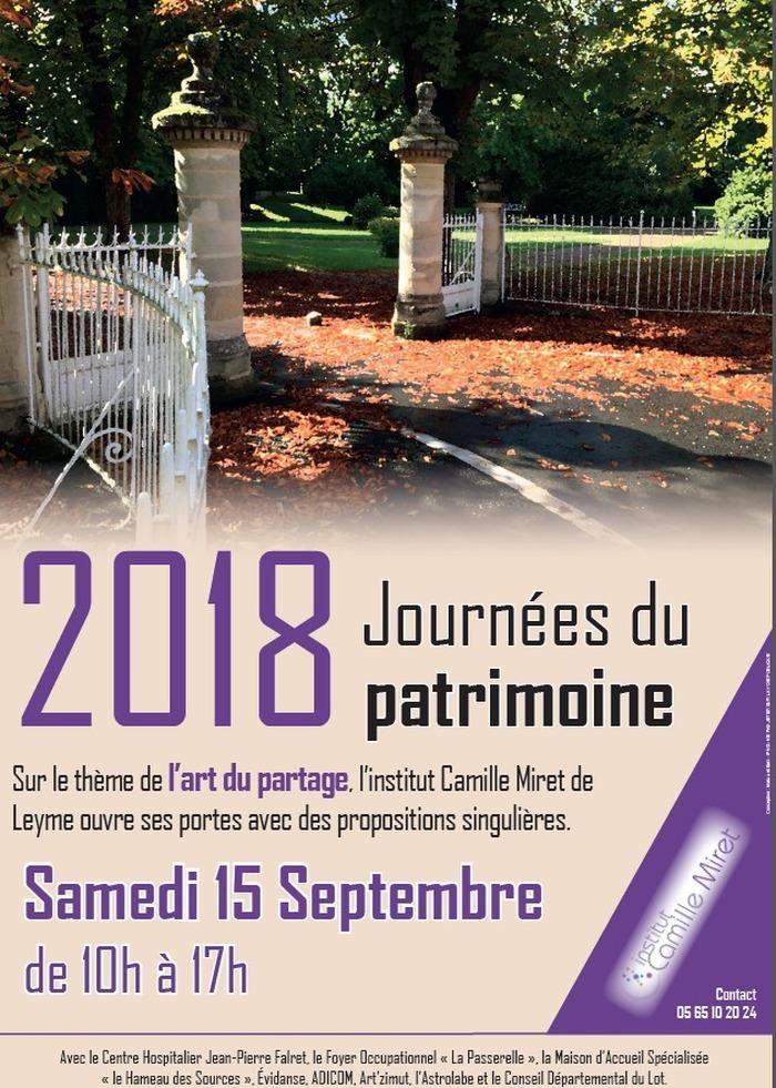 Journées du patrimoine 2018 - Propositions singulières