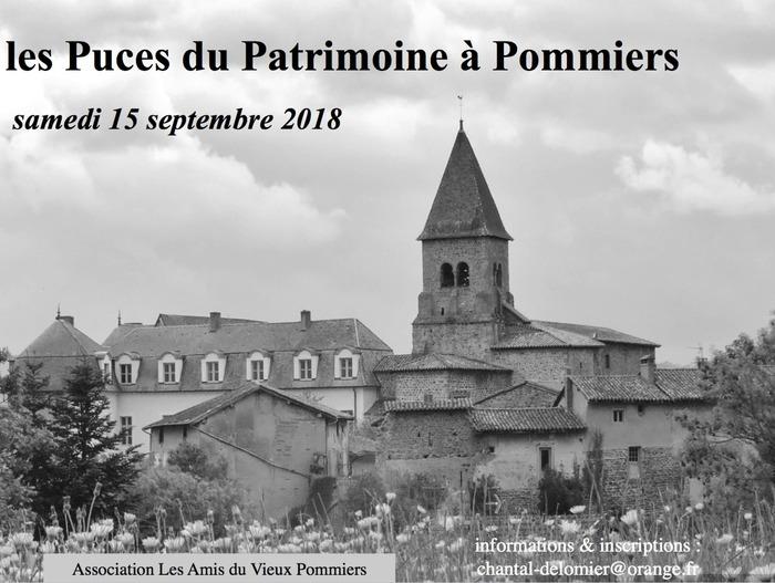 Journées du patrimoine 2018 - Puces du patrimoine de Pommiers