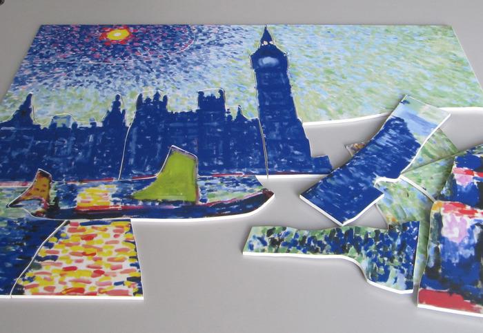 Crédits image : Puzzles fauves - Photographie : Julie Machart, Ville de Troyes