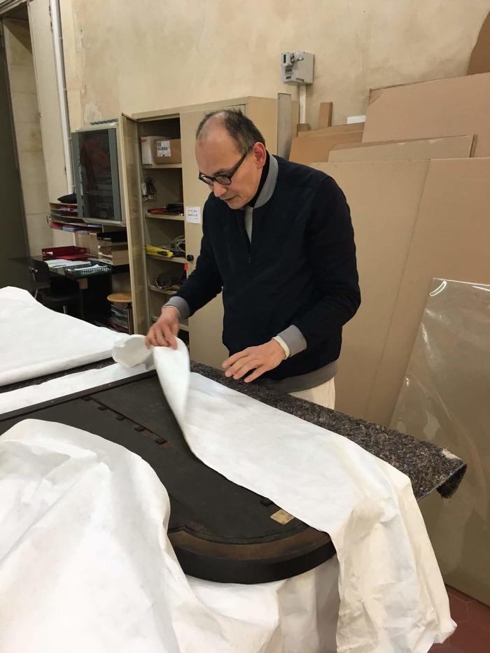 Journées du patrimoine 2018 - Qu'est-ce qu'un régisseur d'œuvres d'art ?