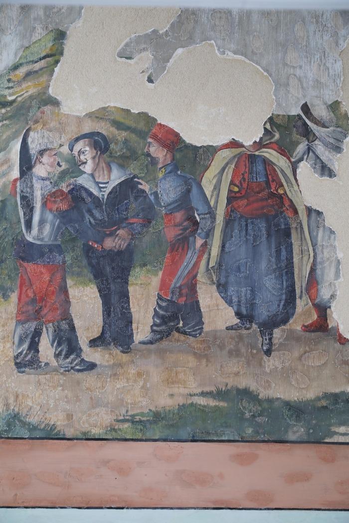 Journées du patrimoine 2018 - Visite commentée du décor de peintures murales