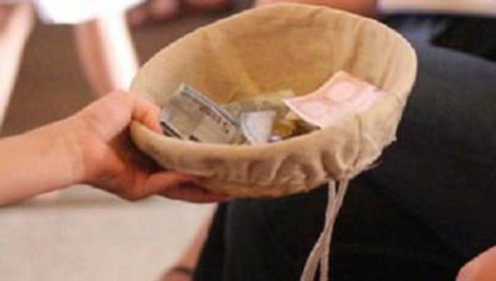Quête au profit du fonds de secours de la paroisse pour les pauvres (CPC)