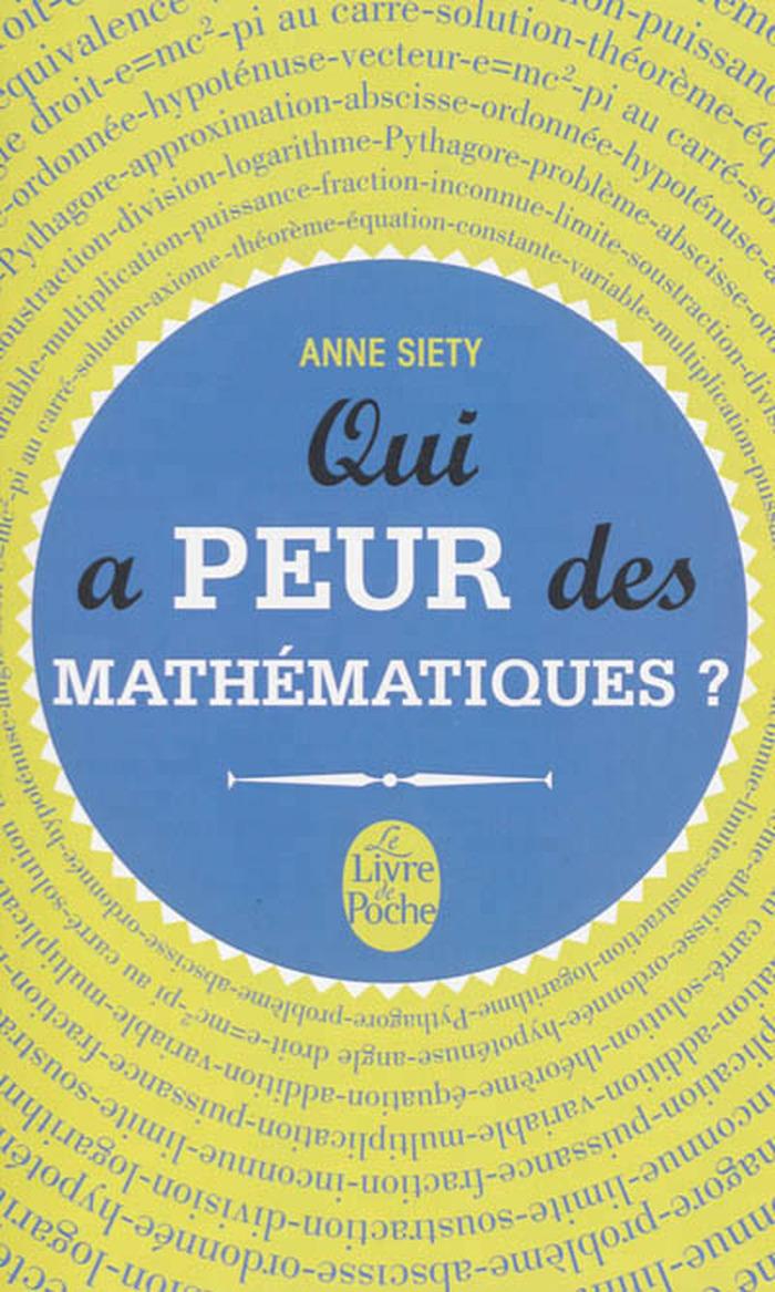 Conférence : Qui a peur des mathématiques ?